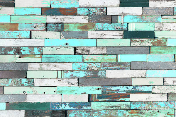 Teal Mixed Media - Shades Of Blue by Delphimages Photo Creations