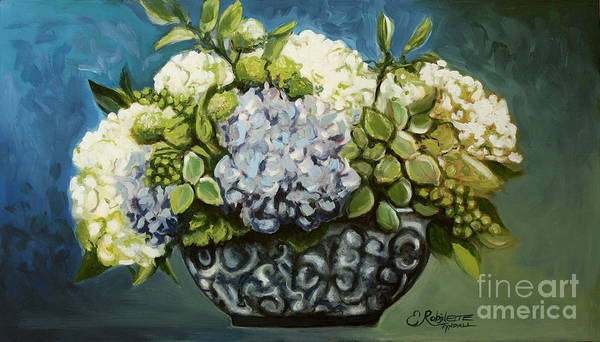 Painting - Shades Of Cerulean by Elizabeth Robinette Tyndall