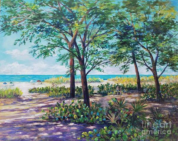 Wall Art - Painting - Shades Of Longboat Key by Lou Ann Bagnall
