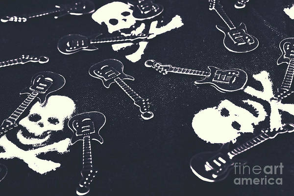 Electric Guitar Wall Art - Photograph - Shades Of Pop Punk by Jorgo Photography - Wall Art Gallery