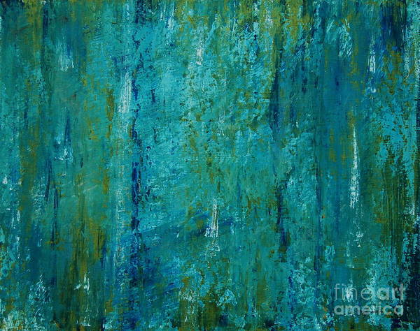 Painting - Shades Of The Sea by Tamyra Crossley