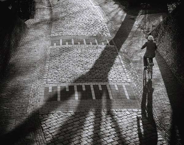 Street Photograph - Shadow by Henk Van Maastricht