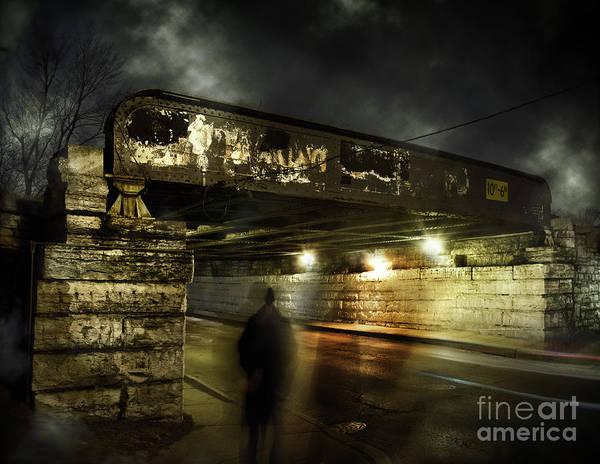 Wall Art - Photograph - Shadow Man by Bruno Passigatti