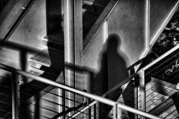 Photograph - Shadow Man by Michael Raiman