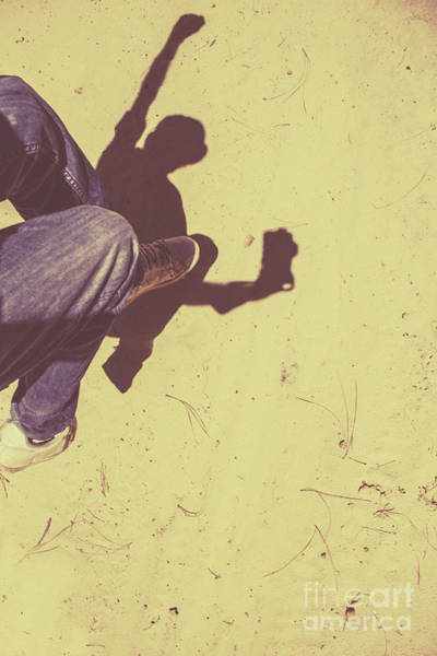 Photograph - Shadow Of A Former Selfie by Jorgo Photography - Wall Art Gallery