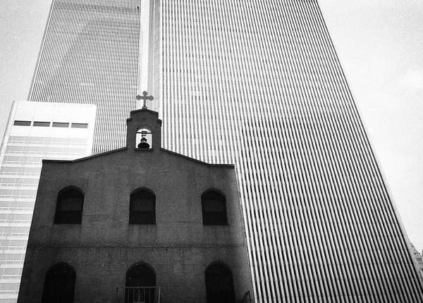 Shadow Of World Trade Center Art Print