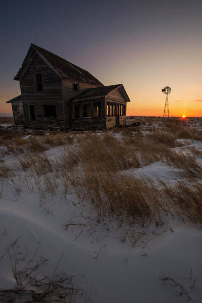 Middle Of Nowhere Photograph - Shadow On The Sun by Aaron J Groen