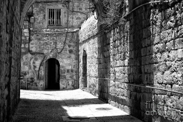 Wall Art - Photograph - Shadow Patterns In Jerusalem by John Rizzuto