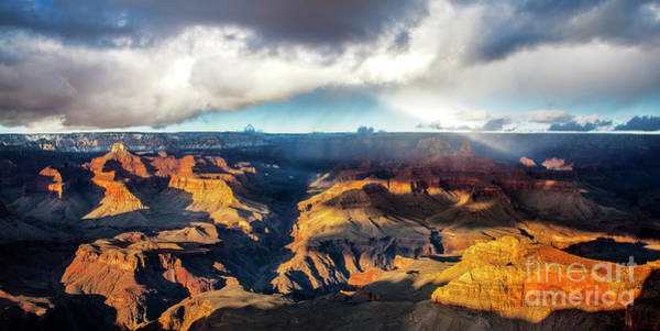 Photograph - Shadow Play At The Grand Canyon by Scott Kemper