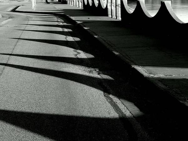Photograph - Shadow Waves by Wild Thing