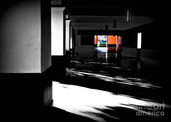 Photograph - Shadowed Portico by Jenny Revitz Soper