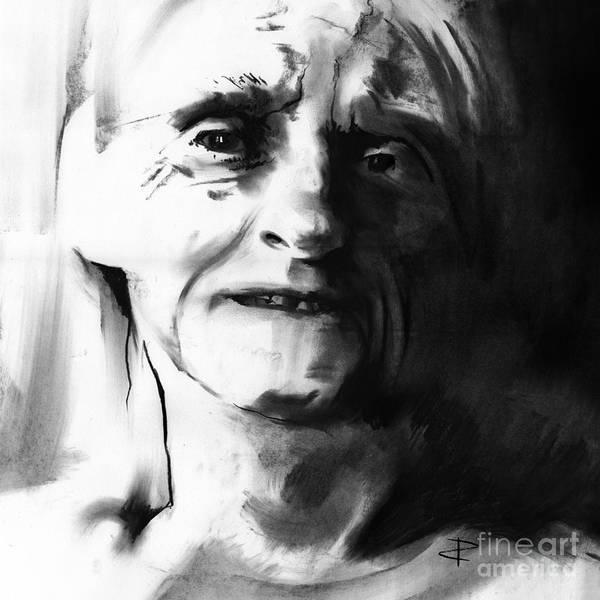Interpret Drawing - Shadows 2 by Paul Davenport