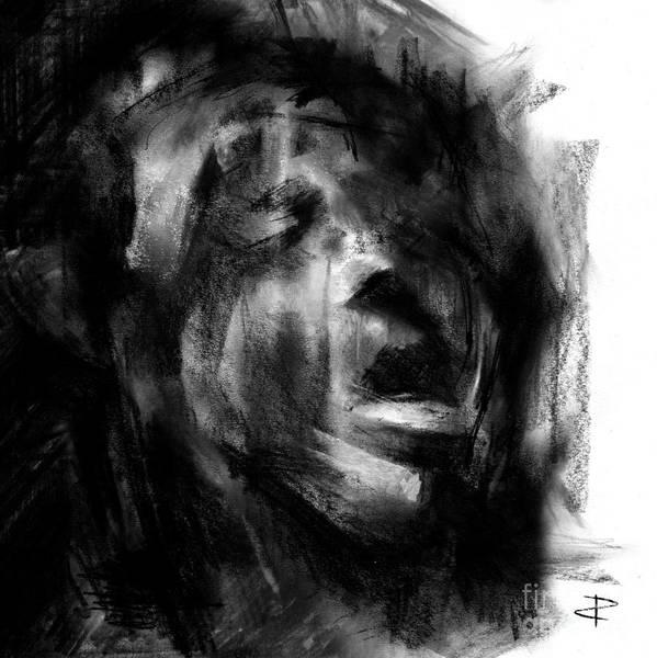 Interpret Drawing - Shadows 3 by Paul Davenport