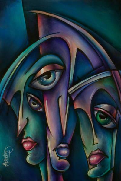 Interaction Painting - Shadows by Michael Lang