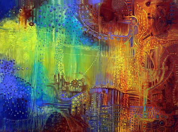 Surrealistic Painting - Shadows Of The Dream II by Lolita Bronzini