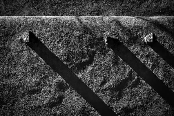 Photograph - Shadows On A Wall - Santa Fe #2 by Stuart Litoff