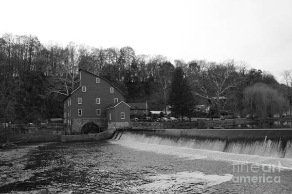 Photograph - Shadows On The Mill In Clinton by Christopher Lotito