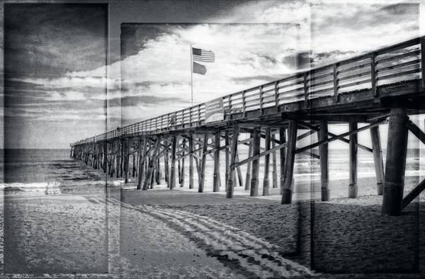 Photograph - Shadows On The Pier by Alice Gipson