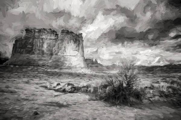 Digital Art - Shadows On The Plain II by Jon Glaser