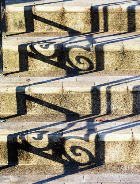 Photograph - Shadows On The Steps by Colin Rayner