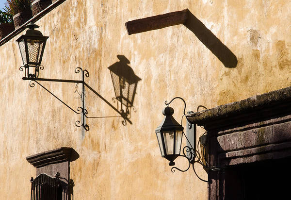 Photograph - Shadows On The Wall. by Rob Huntley