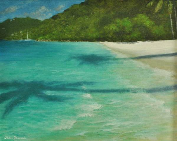 Shadows Over Magens Bay By Alan Zawacki Art Print