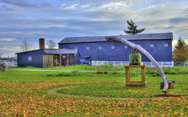 Photograph - Shaker Barn And Sorghum Mill by Sam Davis Johnson