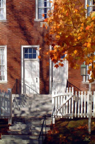 Photograph - Shaker House by Sam Davis Johnson