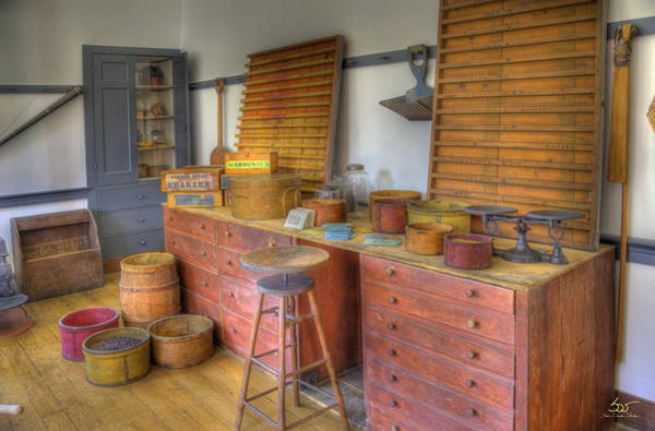 Photograph - Shaker Seedroom 2 by Sam Davis Johnson