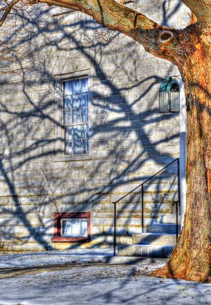 Photograph - Shaker Shadows 7 by Sam Davis Johnson