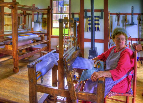 Photograph - Shaker Weaving by Sam Davis Johnson