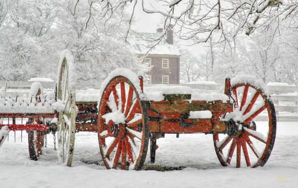 Photograph - Shaker Winter Wagon 2 by Sam Davis Johnson