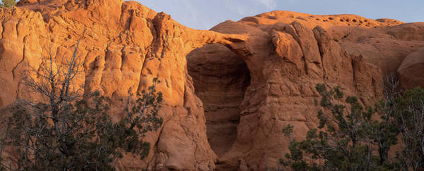 Kodachrome Wall Art - Photograph - Shakespeare Arch Kodachrome State Park Utah by Steve Gadomski