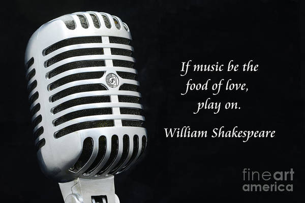 Broadcaster Wall Art - Photograph - Shakespeare On Music by Paul Ward