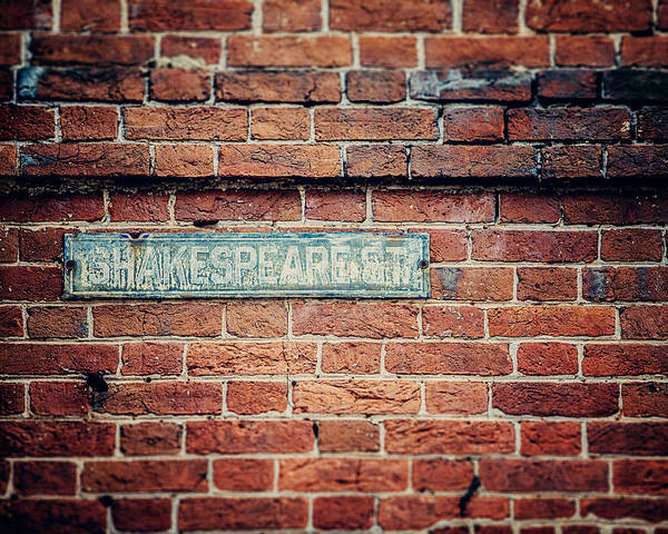 Lisa Russo Wall Art - Photograph - Shakespeare Street by Lisa Russo