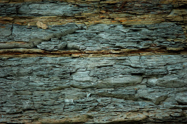 Photograph - Shale Deposit by Jeff Phillippi