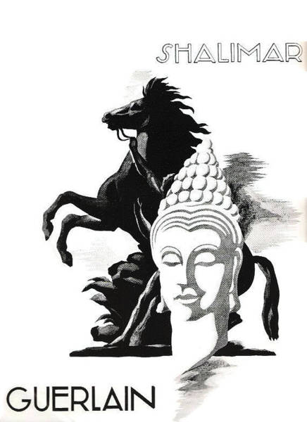 Digital Art - Shalimar by ReInVintaged