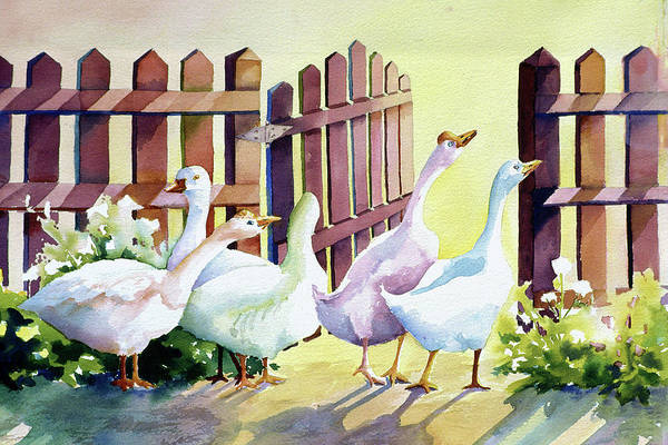 Painting - Shall We by Connie Williams