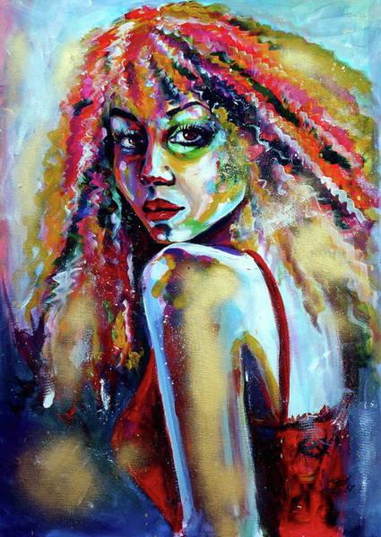 Mood Painting - Shall We Dance by Kovacs Anna Brigitta