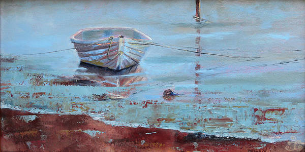 Painting - Shallow Tether by Trina Teele