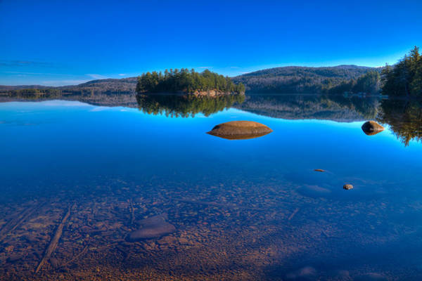 Chain Of Lakes Photograph - Shallow Water On Seventh Lake by David Patterson