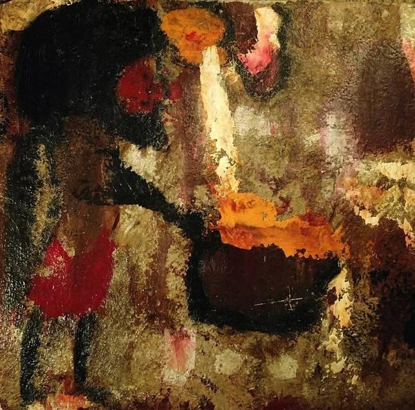 Painting - Shaman Alchemist by Edward Longo
