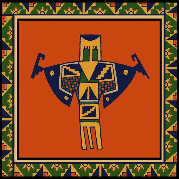 Tribal Dance Digital Art - Shaman Spirits Dance by Vagabond Folk Art - Virginia Vivier