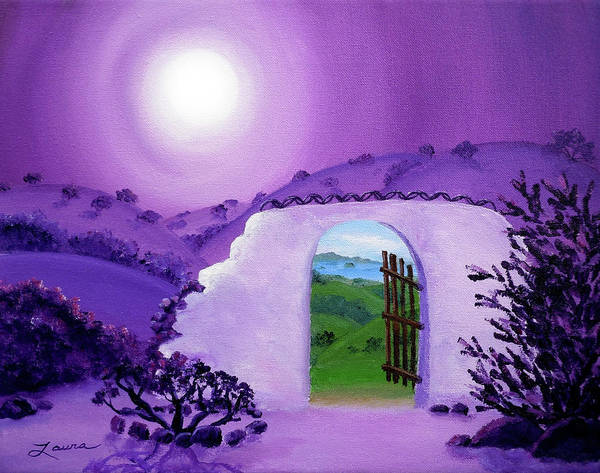 Shaman Wall Art - Painting - Shaman's Gate To Summer by Laura Iverson