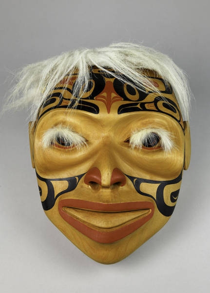 Photograph - Shaman's Mask by Gary Dean Mercer Clark