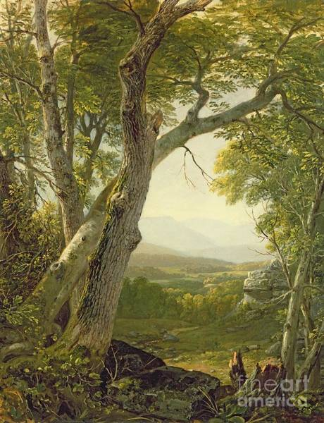 Upstate New York Wall Art - Painting - Shandaken Ridge - Kingston by Asher Brown Durand