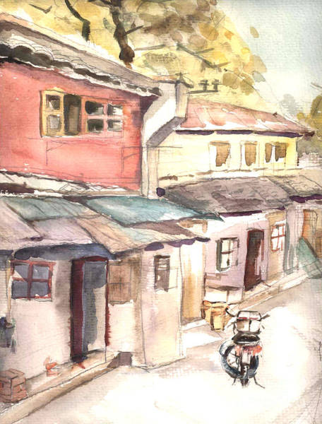 Shanghai Afternoon Art Print