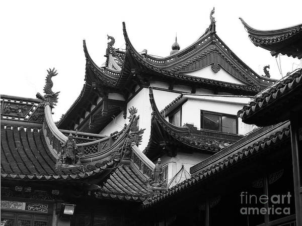 Photograph - Shanghai City 9 by Xueling Zou