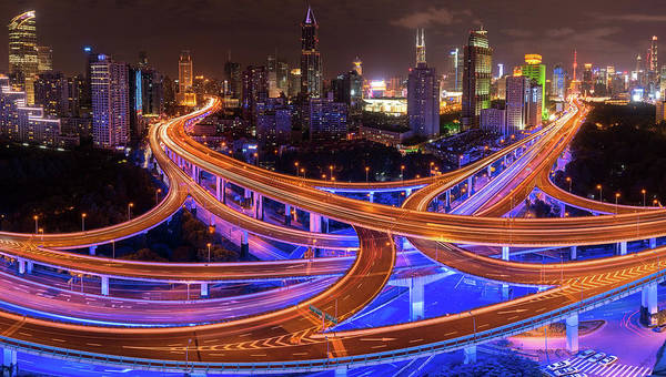 Photograph - Shanghai Nights by Matt Shiffler