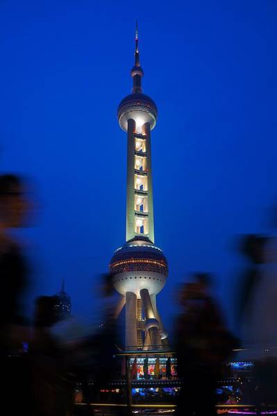 Photograph - Shanghai Pearl Tower by Lee Webb
